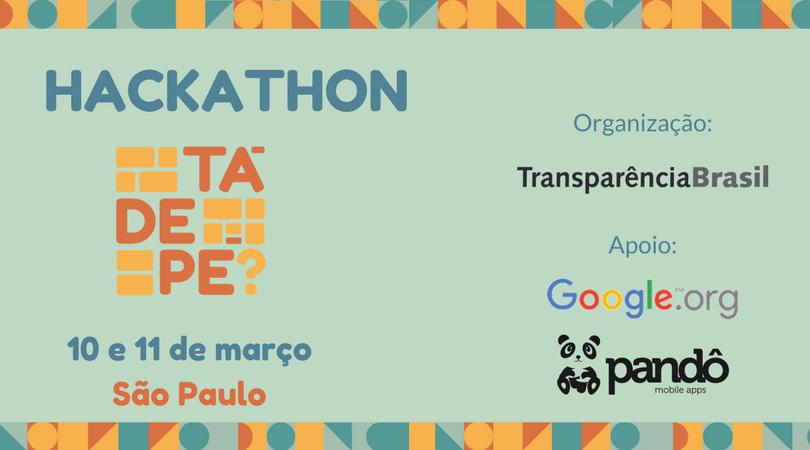 Segunda edição da Hackathon Tá de Pé acontece no Google Campus São Paulo em março