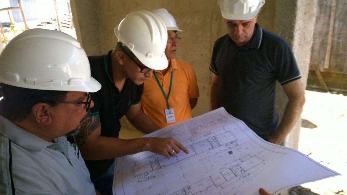 Câmara Técnica do Obra Transparente vistoria obras de creches com observadores sociais em Araucária (PR)